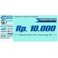 Jakarta Aircon Pembayaran Kupon 10rb