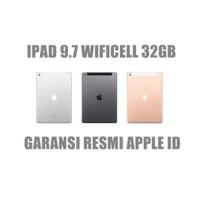 iPad 5th GEN 32gb WI-FI Cell 9.7 Garansi Resmi MP1J2- MPG42-MP1L2