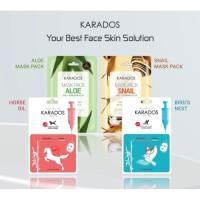 KARADOS Mask Pack - Face Mask - Masker Wajah - Aloe thumbnail
