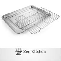 Cooling Rack Pendingin Kue makanan Stainless Steel Bukan Besi Besar