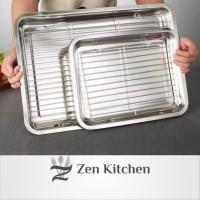 Cooling Rack Pendingin Kue makanan Stainless Steel Bukan Besi Small