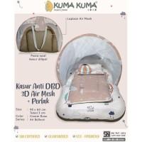 Kuma Kuma Baby Mattress Set with Anti Dengue Air Mesh / Kasur Bayi