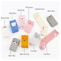 Kaus Kaki Bayi Lucu, Tebal, Anti Slip, Model Korea, Import, Diskon