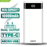 Powerbank Micro and Lightning RT160 LED 10000Mah