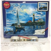 Paket Melukis Paint By Number Dimensions 91322 Twilight Beacon