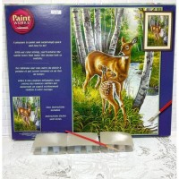 Paket Melukis Paint By Number Dimensions 91358 White Tailed Deer