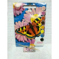 Paket Melukis Paint By Number Dimensions 91341 Butterfly Blossom Kupu