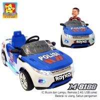 Mainan Mobil Aki Anak PMB M-8188 PJR Mainan Mobil Aki Polisi