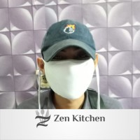 Promo Masker kain 2 lapis busa Masker hijab 12pcs
