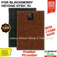 Premium Leather Back Cover Casing BB Blackberry Passport Q30 Case hp