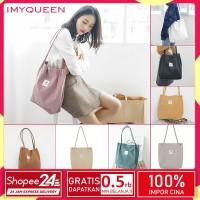 Tote Bag Korea Corduroy tas wanita tas Selempang 2020 Tas kanvas