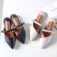 Sepatuafa - Aeysah Flat Shoes Wanita Trendy IS08