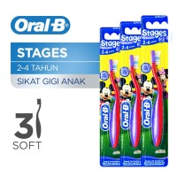 Oral-B Sikat Gigi Stages 2 Pack of 3