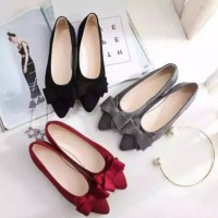 Realpict Flatshoes pita tumpuk Nn 80