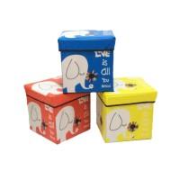 SB004 - Animal Storage box / Storage Stool / Tempat Mainan Ukuran 30cm