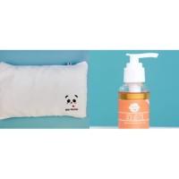 Paket Holus PIllow / Bebi Pillow + Holus Oil Penumbuh Rambut Bayi