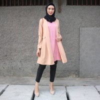 Chamele Plisket Vika Cardigan pleats 1 pc nyatu 2270