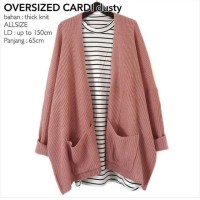 OVERSIZED CARDI DUSTY