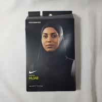 Nike Pro Hijab Hitam XS / S Hijab Olah Raga Jilbab Edisi Clear Dri-Fit