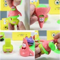 Spongebob Slimeez figure in slime SNI Patrick Star Action figure slime