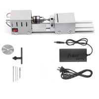 Mesin Bubut Mini Lathe Wood Metalworking DIY 96W