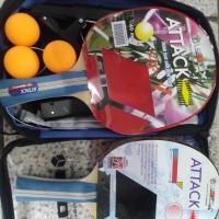 Bat tenis meja ebox satu set komplit