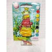 Paket Melukis Paint By Number Dimensions 91421 Frog Pile Up Katak