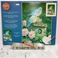Paket Melukis Paint By Number Dimensions 91401 Garden Bluebirds Burung