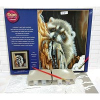 Paket Melukis Paint By Number Dimensions 91418 Daydreaming Raccoon