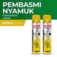 Force Magic Lemon 600 Ml - Paket Hemat isi 2