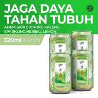 Adem Sari Ching Ku Sparkling Lemon 320 Ml x4