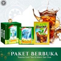 Paket Hemat Berbuka Tanpa Haus - Tesona Iced Tea & Adem Sari Dus