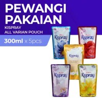 Kispray Refill Pouch 300ml Starter Pack - Semua Varian 5pcs