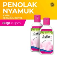 Soffell Botol Bunga Geranium 80Gr - 2 Botol