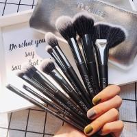 focallure brush set isi 10 include bag