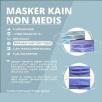 Masker isi 50piece 2 ply earloop Masker Kesehatan HARGA PABRIK