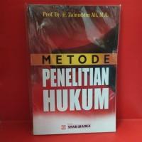 metode penelitian hukum by Zainuddin ali