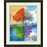 Paket Diamond Painting DOME 170024 Four Seasons Tree Empat Musim