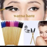 mascara wand warna baru / sisir eyelash extension