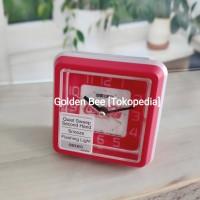 Jam Meja/ Weker Seiko QHE906R - Coca-Cola Edition - Quiet Sweep
