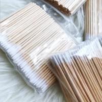wooden stick - cotton swab untuk sulam alis