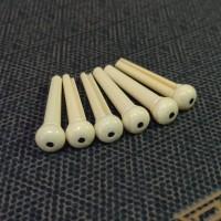 Pin Bridge Gitar Akustik Ivory