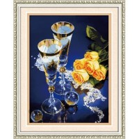 Paket Diamond Painting DOME 170042 The Romantic Bunga Rose Mawar