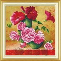 Paket Diamond Painting DOME 170045 Bunga Flower Rose Mawar Sepatu