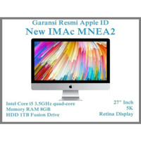 """Apple iMac 27"""" inchi 5k Retina MNEA2 8gb,HDD 1TB FD NEW Garansi Resm"""