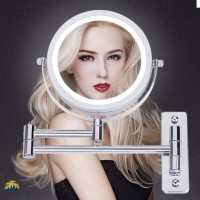 Jual Wall Mounted Makeup Mirror Led Light Two Sided 360 Rotate Mirror 5x Kab Malang Nerisshopy Tokopedia