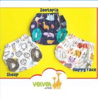 Velvet Junior Celana Pendek Pop Unisex / Celana Pop Bayi Velvet