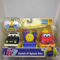 Bob-bath Squirters 3-pack - Vehicle Friends Squish N Splash Pals
