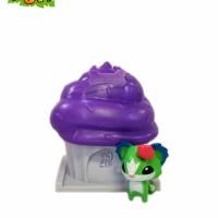 Animal Jam Adopt A Pet Series 3 Cupcake Purple-white