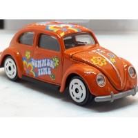Majorette Vintage Box Volkswagen Beetle - Orange